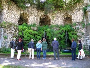 Villa Lante - Geheimnisvolle Quelle