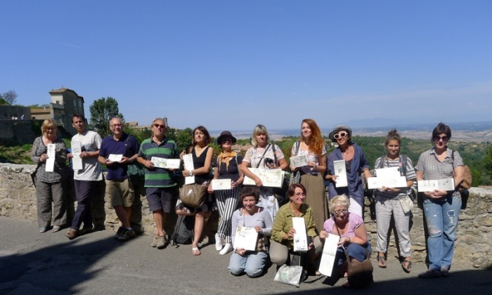 Urban Sketchers a Volterra