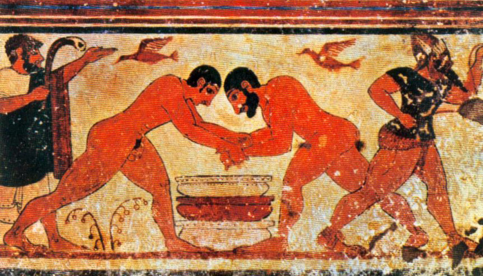 Tomba degli Auguri, Tarquinia