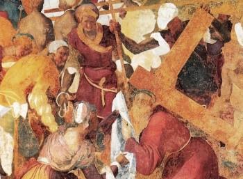 "Pontormo, ""Kalvarienberg"", Fresko in Galluzzo, 1523-25, Detail"