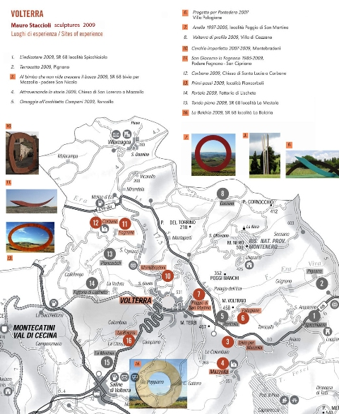 Volterra Art Map