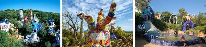Niki de Saint Phalle: Giardino dei Tarocchi