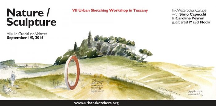 Nature / Sculpture: VII Urban Sketchers Workshop 2016