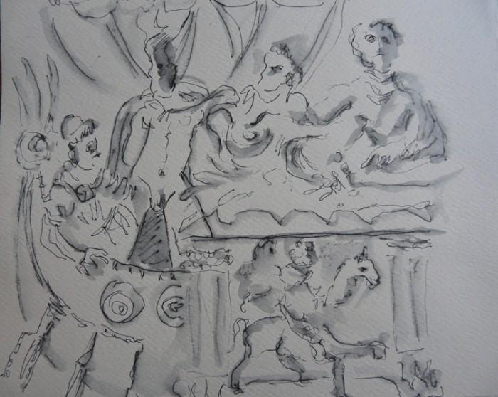Caroline Peyron: dettagli dal Museo Etrusco