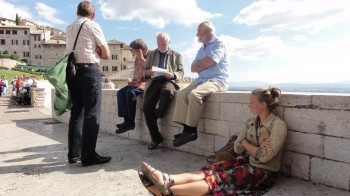 Francesco - Diskussion, Foto Ronald Steckel