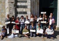 Urban Sketchers WorkshopPanoramen von Volterra