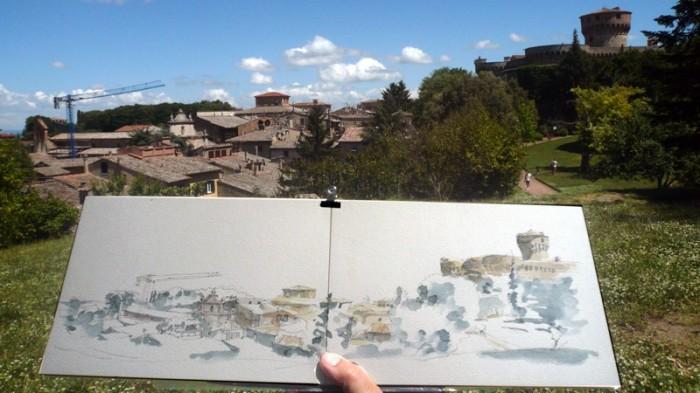 Simo Capecchi: Parco Fiumi, Volterra