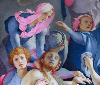 "Pontormo, ""Kreuzabnahme"", 1525, Detail"