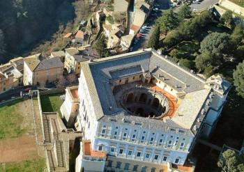 Anlage der Villa Farnese in Caprarola