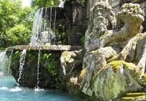Landschaftsparks und mythische Gärten