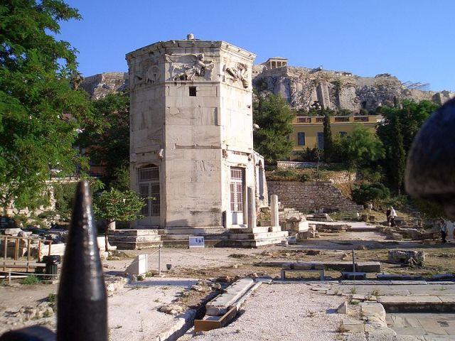 Turm der Winde, Athen