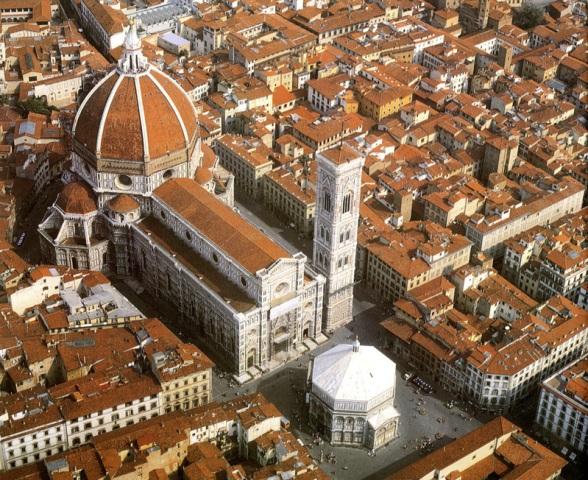 Baptisterium und Dom, Florenz
