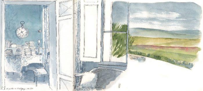 Simo Capecchi: Villa Le Guadalupe - studio